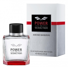 Colonia Power of seduction Antonio Banderas 100 ml.