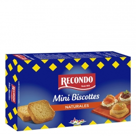 Biscottes mini Recondo 120 g.