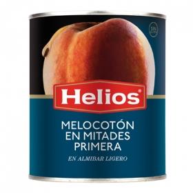 Melocotón en almíbar ligero en mitades Helios sin gluten 480 g.
