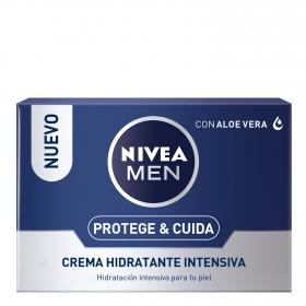 Protege & Cuida Crema Hidratante Intensiva Nivea Men 50 ml.