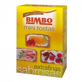 Tostadas mini  extrafinas Bimbo 100 g.