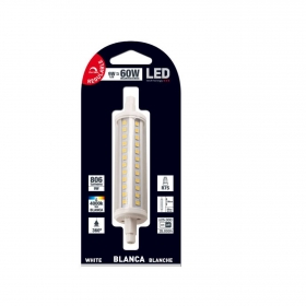 Bombillas LED SMD Tubo 118mm 9W Casquillo R7s