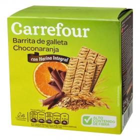 Galletas de chocolate y naranja Carrefour 210 g.