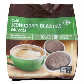 Café monodosis mezcla compatible con Senseo