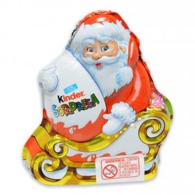 Papa noel de chocolate Kinder 1 ud.