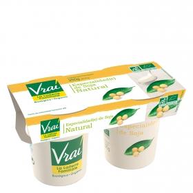 Yogur de Soja natural ecológico