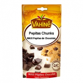 Pepitas de chocolate Chunks Vahiné 100 g.