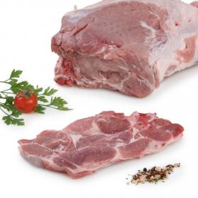 Chuletas de Aguja Cerdo Carrefour 1 kg aprox