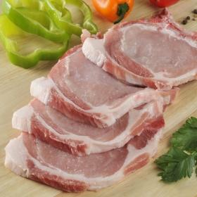 Chuleta de lomo de cerdo