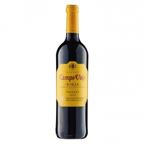 Vino D.O. Rioja tinto crianza Campo Viejo 75 cl.