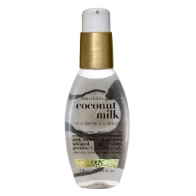 Serum nutritivo con leche de coco