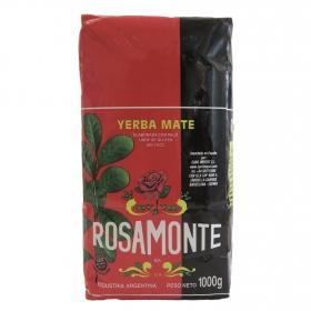 Yerba mate sabor suave Rosamonte 1 kg.