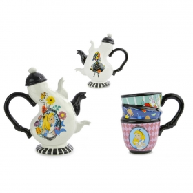 Set Tetera + Taza Alicia DISNEY - Multicolor