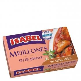 Mejillones en salsa vieira Isabel 69 g.