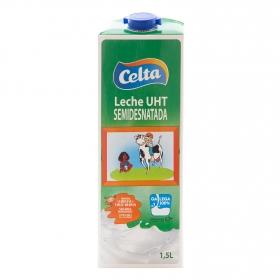 Leche semidesnatada Celta brik 1,5 l.