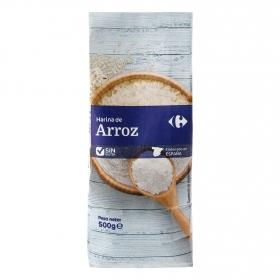 Harina de arroz Carrefour sin gluten 200 g.