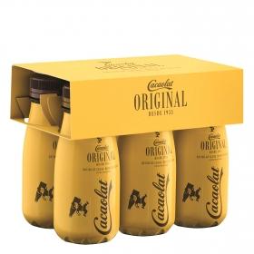 Batido de cacao Cacaolat pack de 6 botellas de 200 ml.