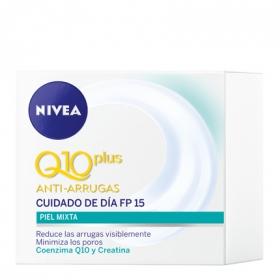 Cuidado de día FP 15 anti-arrugas para piel mixta Nivea 50 ml.