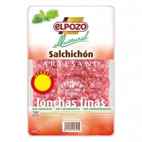 Salchichón artesano All Natural El Pozo 90 g.