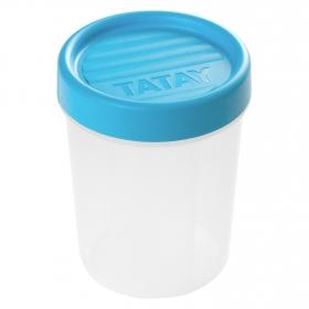 Hermetico Rosca de Plástico TATAY 0,4 L. - Opaco