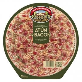 Pizza de atún, bacon y mozarella Casa Tarradellas 405 g.
