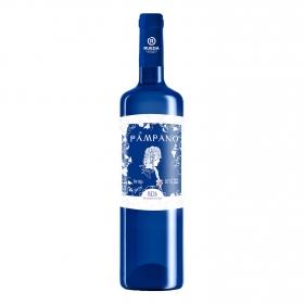 Vino D.O Rueda semi-seco blanco Pampano 75 cl.