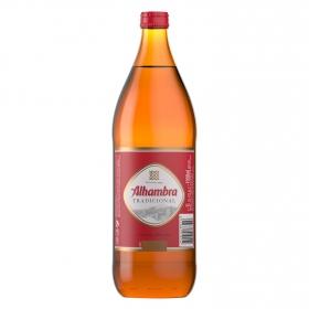 Cerveza Alhambra tradicional botella 1 l.