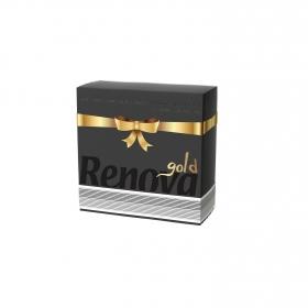 Servilletas  2 capas Gold 40pz  Negro