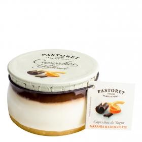 Yogur de naranja y chocolate Pastoret 150 g.