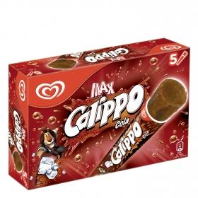 Helado de cola Calippo sin gluten 5 ud.