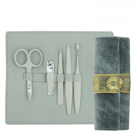 Kit de manicura gris Baroque Collection Beter 1 ud.