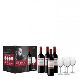 Estuche vino tinto crianza D.O. Rioja