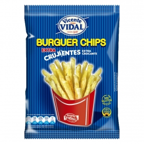 Patatas fritas burguer extra crujientes Vicente Vidal 95 g.