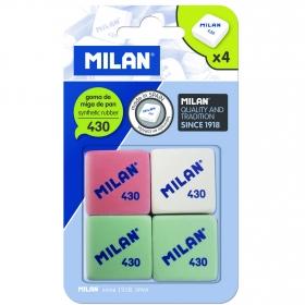 Gomas de Borrar Milan 4 uds