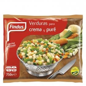 Verduras para crema y pure Findus 750 g.