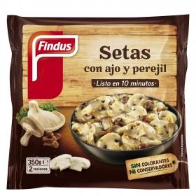 Setas con ajo y perejil Findus-Verdeliss 350 g.