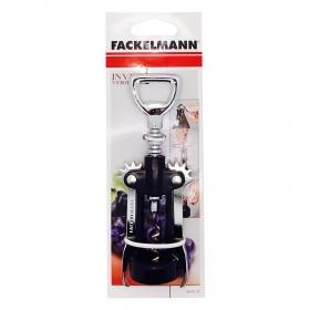 Sacacorcho  FACKELMANN Bar & Wine 17cm. - Negro