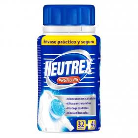 Lejia en pastillas para ropa Neutrex 32 ud.