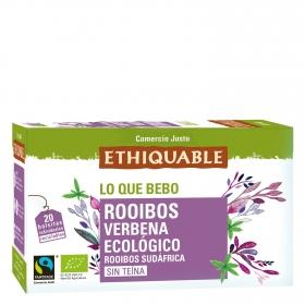 Infusión Rooibos verbena en bolsitas ecológica Ethiquable 20 ud.