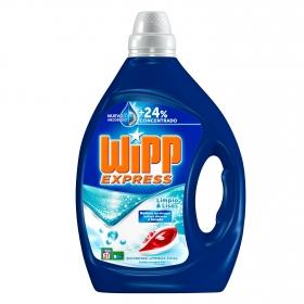 Detergente líquido limpio & liso