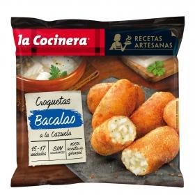 Croquetas de cazuela de bacalao 'Recetas Artesanas' La Cocinera 500 g.