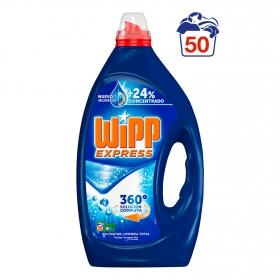 Detergente líquido Wipp Express 50 lavados.