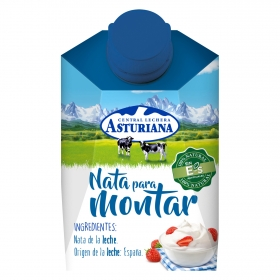 Nata para montar Central Lechera Asturiana 200 ml.