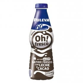 Batido con leche y cacao Oh! Fresco
