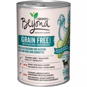 Alimento Perro Beyond Grain Free Pavo Lata 400 grs