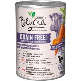 Alimento Perro Beyond Grain Free Buey Lata 400 grs