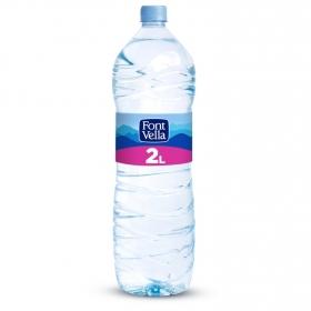 Agua mineral Font Vella natural 2 l.