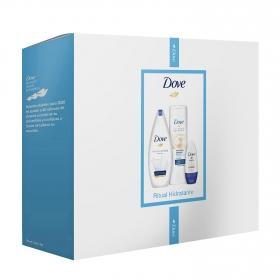 Pack ritual hidratante gel de ducha 250 ml. + Loción corporal 250 ml. + desodorante 50 ml.