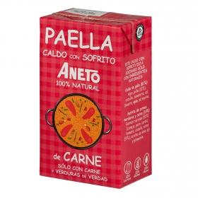 Caldo para paella Aneto sin gluten y sin lactosa 1 l.