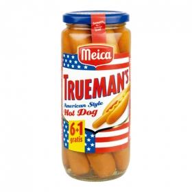 Salchichas Trueman`s estilo americano